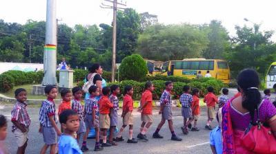 Odisha's initiative to give free education to tribal girls