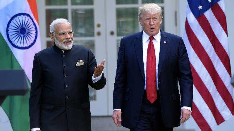 Modi and US President Donald Trump are likely to have a bilateral meeting on Monday on the sidelines of the Asean summit in Manila. (Photo: AP)