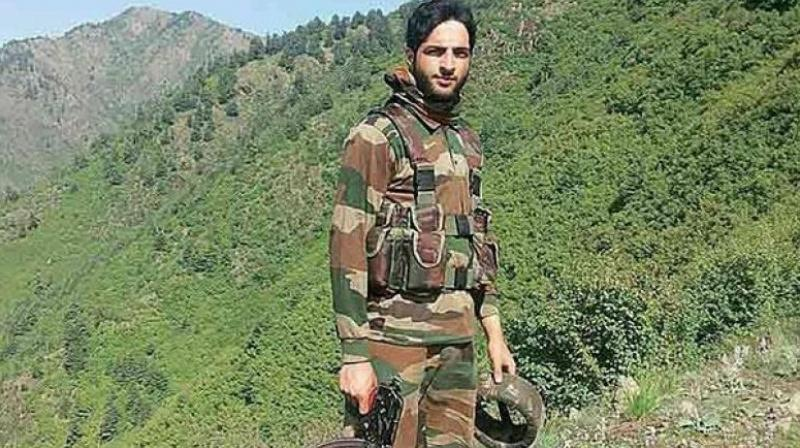 Hizbul Mujahideen commander Burhan Wani (Photo: File)