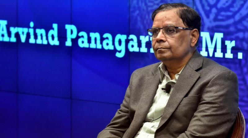 Outgoing Niti Aayog vice-chairman Arvind Panagariya. (Photo: File)