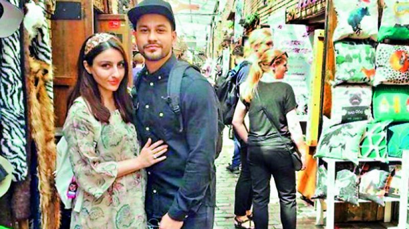 Soha Ali Khan and Kunal Khemu on their recent babymoon in London.