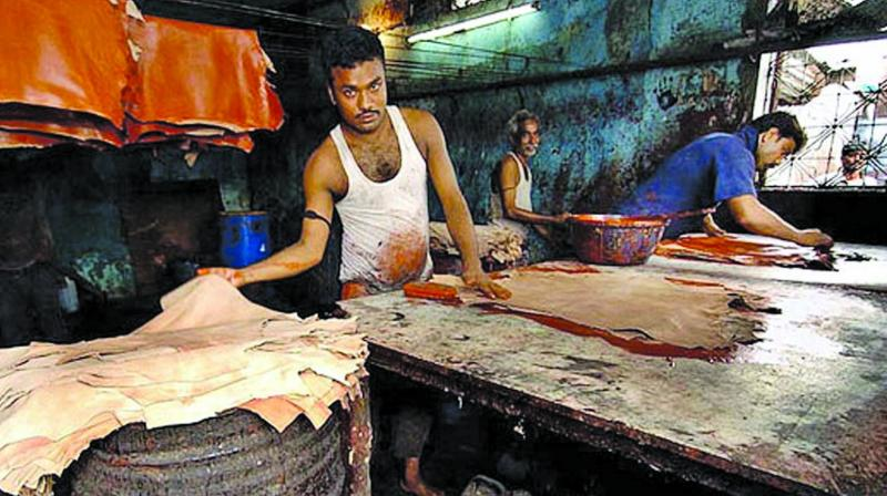 India's leather exports currently stands at USD 5.66 billion. (Photo: Representational Image)