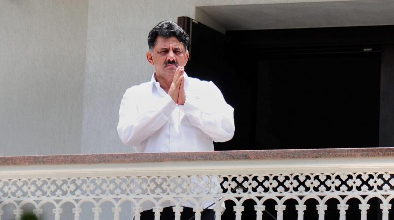 Karnataka Congress MLA D.K. Shivakumar (Photo: PTI)