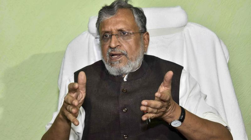 Bihar Deputy Chief Minister Sushil Kumar Modi (Photo: PTI)
