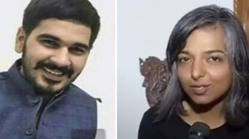29-year-old Varnika Kundu has accused Haryana BJP chief Subhash Barala's son Vikas of stalking and chasing her while she was driving home alone. (Photo: Screengrab)