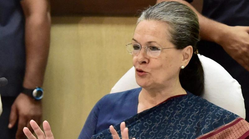 On August 10, Sonia Gandhi was back at the helm of the party months after Congress faced a drubbing in the Lok Sabha polls. (Photo: Representational)