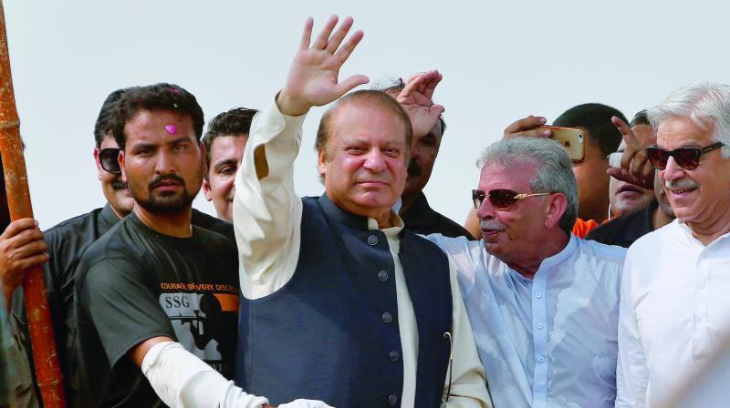 Maryam said after the revelation of the video her father should not be kept behind the bars any more. She also hinted to use this video in the bail case of Sharif in Islamabad High Court. (Photo: File)