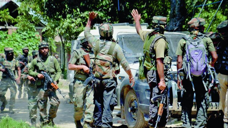 Five people were injured when the security forces opened fire to chase away the stone throwers. (Photo: Representational)
