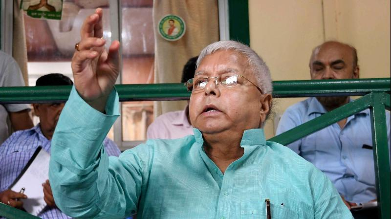 RJD supremo Lalu Prasad Yadav (Photo: PTI)