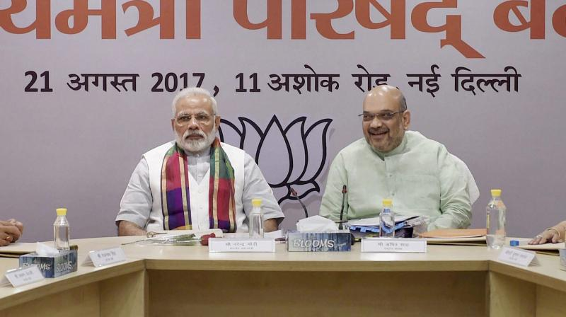 Prime Minister Narendra Modi and BJP President Amit Shah (Photo: PTI)