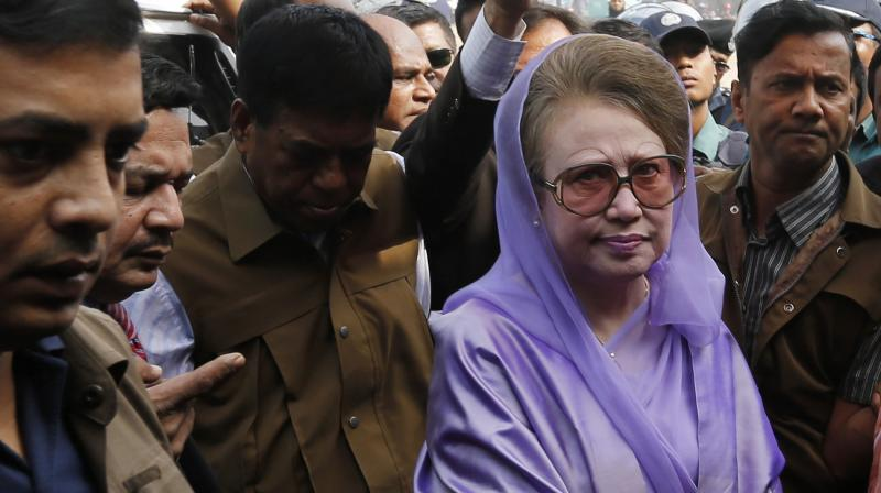 Judge Mohammad Akhtaruzzaman sentenced Zia to rigorous imprisonment and said the shorter term was for 'her health and social status.' (Photo: File)