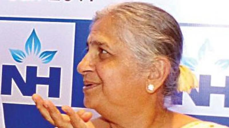 Sudha Murthy's book, published by Penguin Random House, talks about the author's experiences while she was working for Infosys Foundation, set up in 1996. (Photo: Deccan Chronicle)