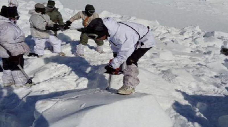 The avalanche had hit the Army positions in the northern glacier at around 3:30 pm today.   (Photo: Representational Image)