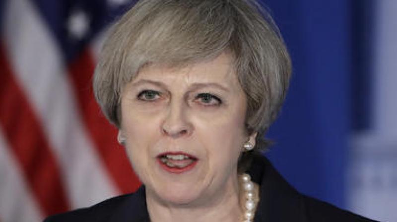 British Prime Minister Theresa May. (Photo: AP)