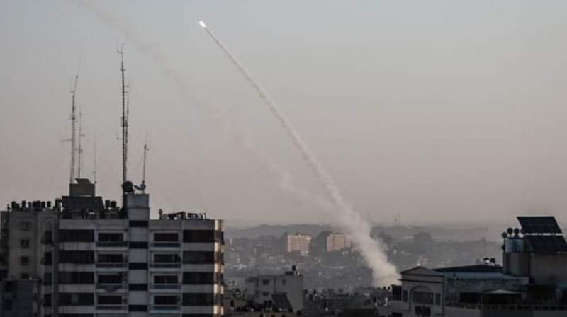 Further air-strikes in Gaza, which the Israeli military said targeted Islamic Jihad gunmen and various sites belonging to the group, killed eight more Palestinian men. (Photo: Twitter)