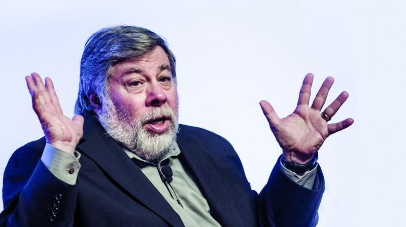 Steve Wozniak, the co-founder of Apple
