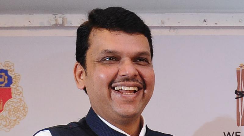 Former Maharashtra chief minister Devendra Fadnavis.