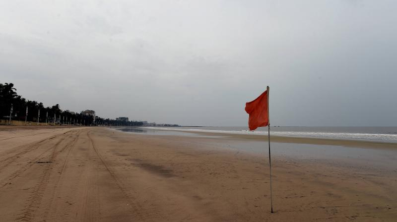 Mumbai's Juhu Beach was deserted for much of March and April due to the coronavirus lockdown. (PTI)