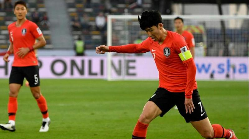 Tottenham Hotspur and South Korea star Son Heung-min described the match as 'very aggressive'. (Photo: AFP)