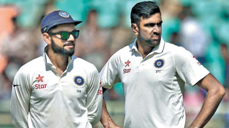 Virat Kohli and R. Ashwin