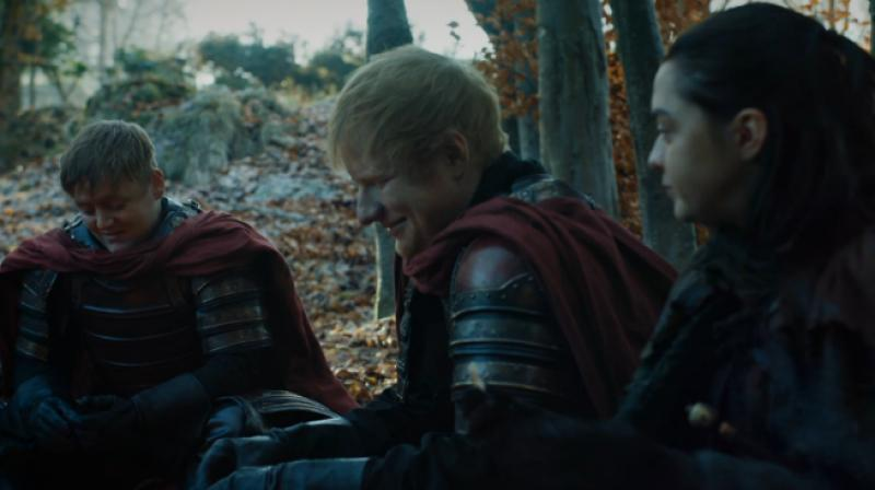 Ed Sheeran in 'Game of Thrones.'