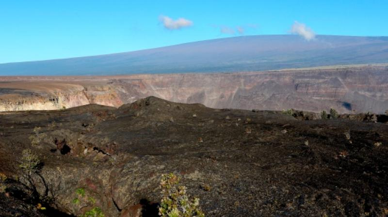 The increased seismic activity indicated a shift in the 'shallow magma storage system' under the mountain, the Hawaii Volcano Observatory said in an advisory. (Photo: AP)