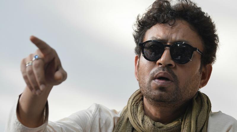 Irrfan Khan, Bollywood actor.