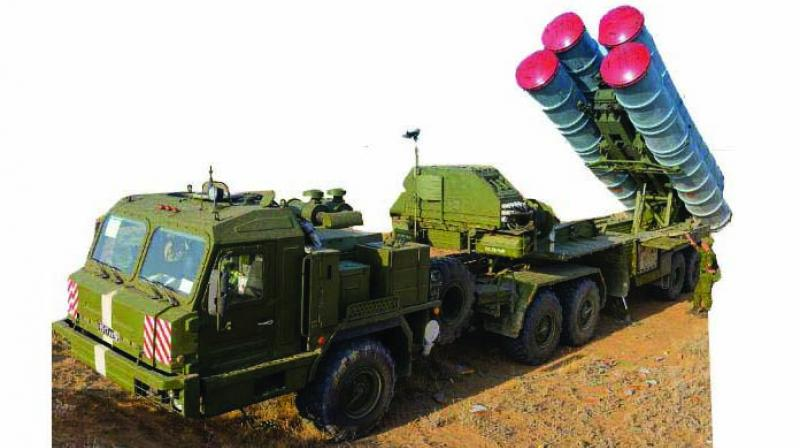 The S-400 is very versatile. It has four different missiles, the very long range 40 N6 (400 km) series, which is ready for deployment.