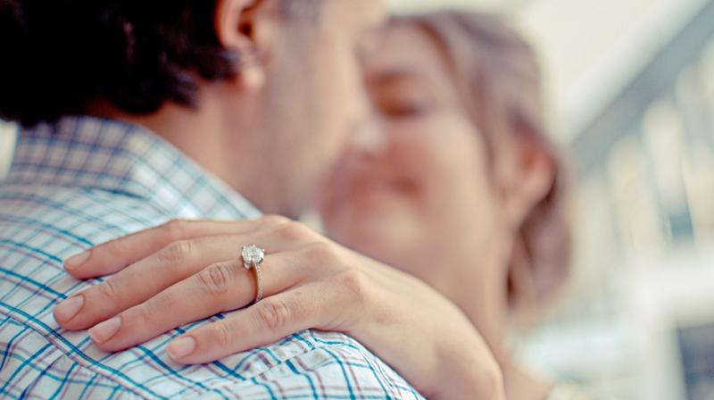 As engagements rings are wore almost on a daily basis, for the rest of your life, diamonds are the ideal choice for them. (Photo: Representational/Pixabay)