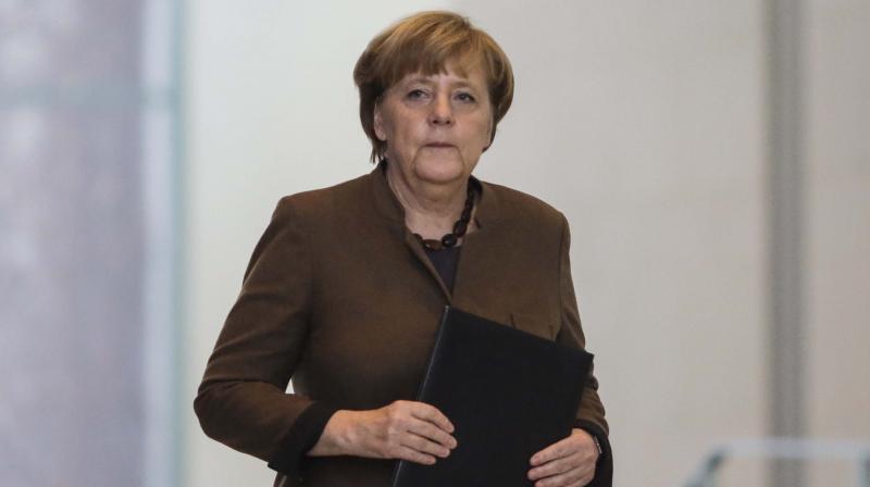 German Chancellor Angela Merkel. (Photo: AFP)