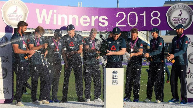 England failed to cope with raised expectations at the 2017 Champions Trophy when they lost to eventual winners Pakistan in the semi-finals. (Photo: AFP)