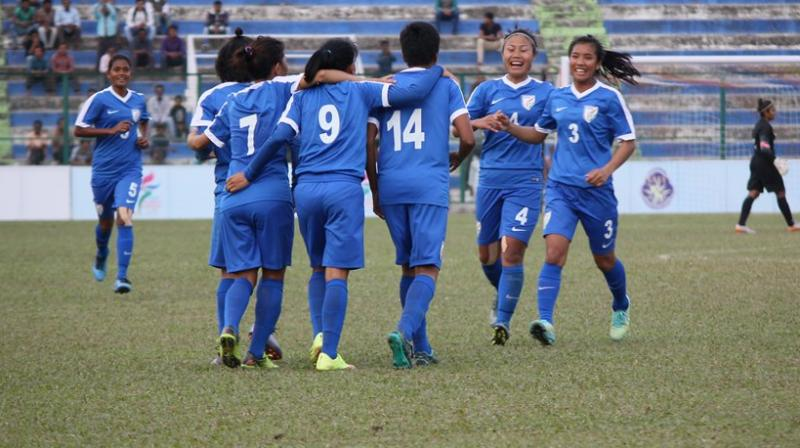 India were dominant all throughout, thus, setting the pace of the match. (Photo: AIFF)