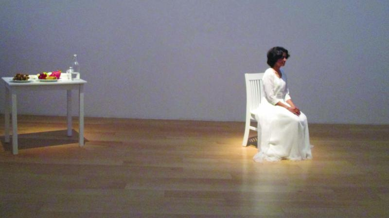 Vandana in her performance at the Bangkok Arts and Culture Centre