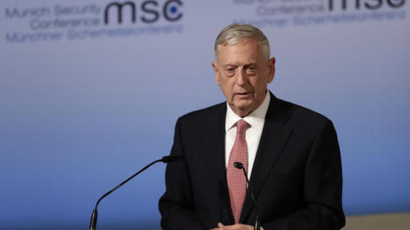 Defense Secretary Jim Mattis. (Photo: AP)