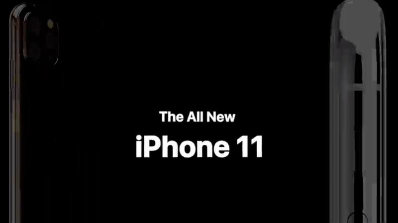 Realistic concept video of Apple iPhone 11.
