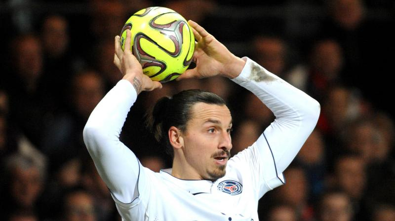 Swedish international Zlatan Ibrahimovic. AFP Photo