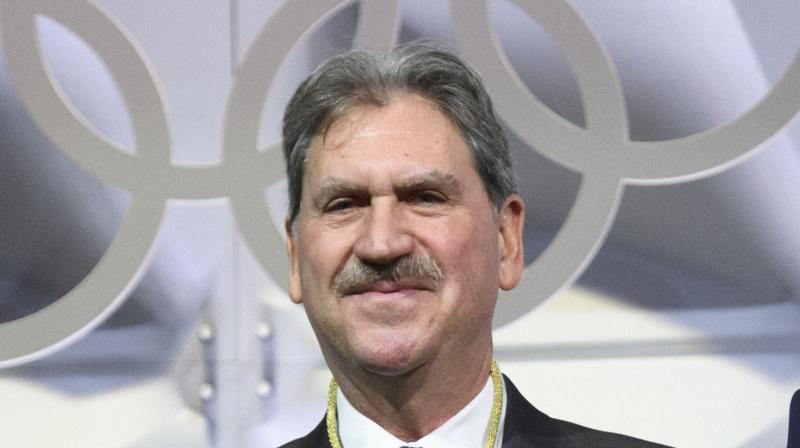 ITF president David Haggerty. AP Photo