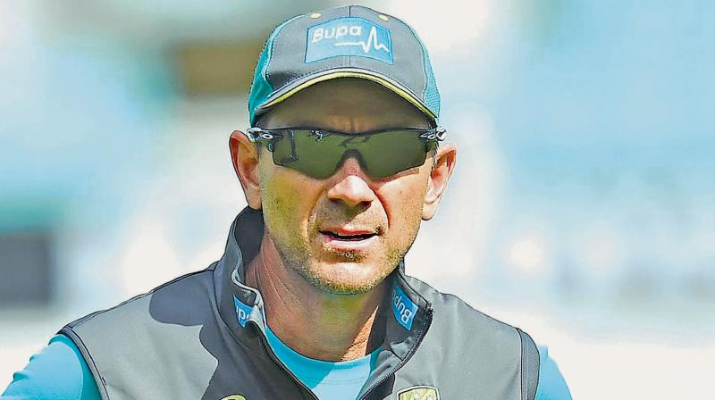 Australia head coach Justin Langer. DC File Photo