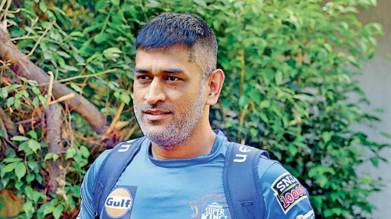 Former Indian skipper MS Dhoni. DC File Photo