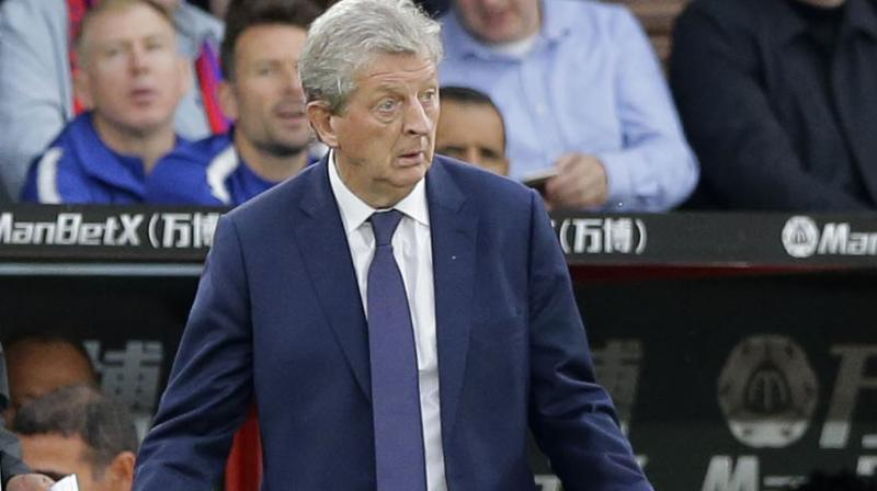 Crystal Palace manager Roy Hodgson. AFP Photo