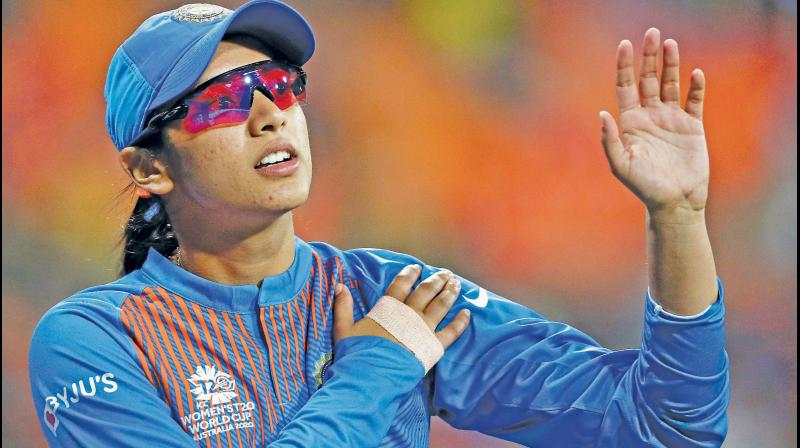 Smriti Mandhana. DC File Photo