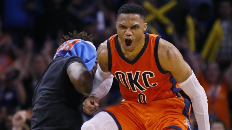 Russell Westbrook of NBA team Houston Rockets. AFP Photo