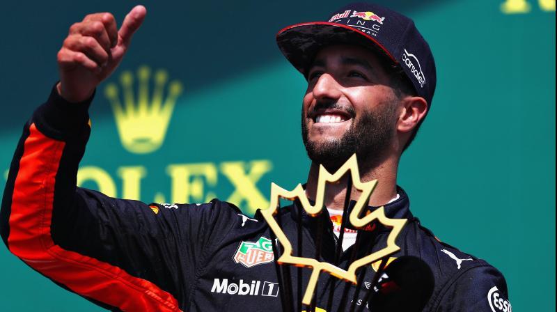 Daniel Ricciardo of Australia. AFP Photo