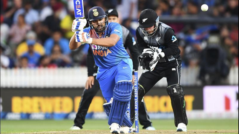 Rohit Sharma. AP Photo