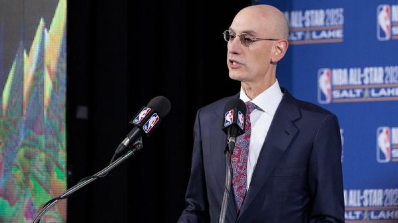 NBA Commissioner Adam Silver. Twitter Photo