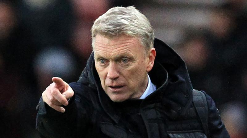 David Moyes. AFP Photo