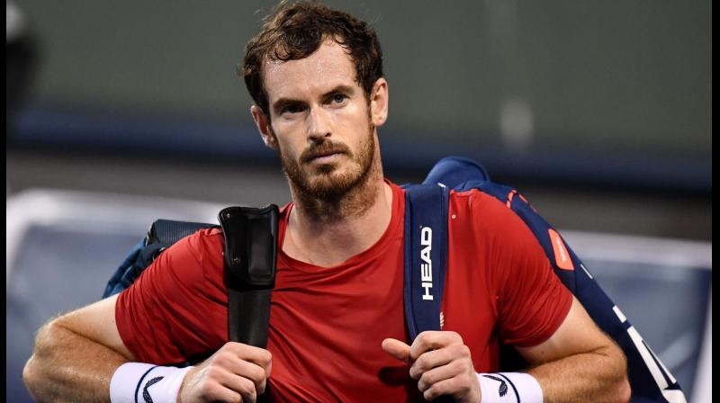 Andy Murray of Britain. AFP Photo