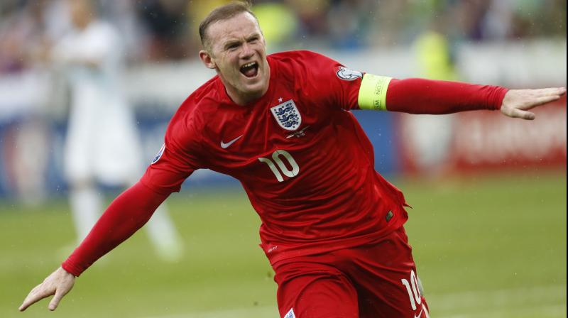 Wayne Rooney. AP Photo