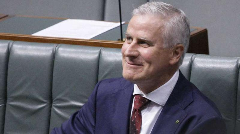 Michael McCormack, 53, was chosen by the Nationals -- the junior partner in the governing Liberal-National coalition -- to take over as leader and deputy PM in an internal party vote. (Photo: AP)
