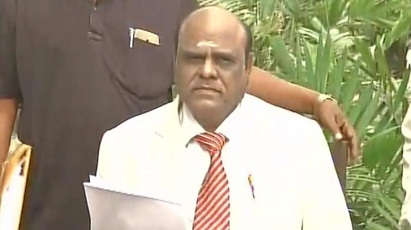 Calcutta High Court judge Justice C S Karnan. (Photo: File)